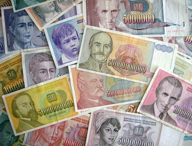 Inflation und Geld drucken - es war einmal