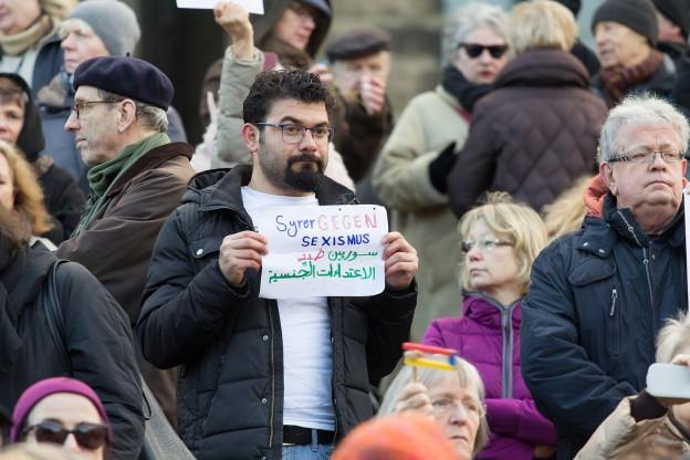 Flashmob gegen Männergewalt, Köln 2016