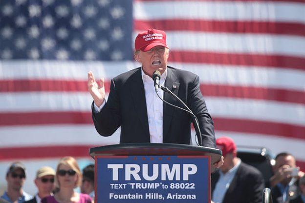 Donald Trump Präsidentschaftswahl 2016